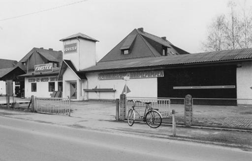 Darstellugn des Förster Firmengeländes mit Gebäuden aus den 1920er Jahren